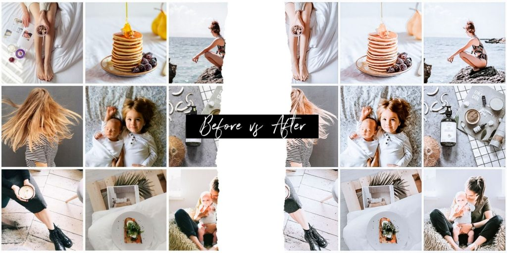Lightroom Presets Before and After