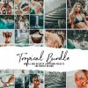 TROPICAL BUNDLE - 15 Lightroom Presets