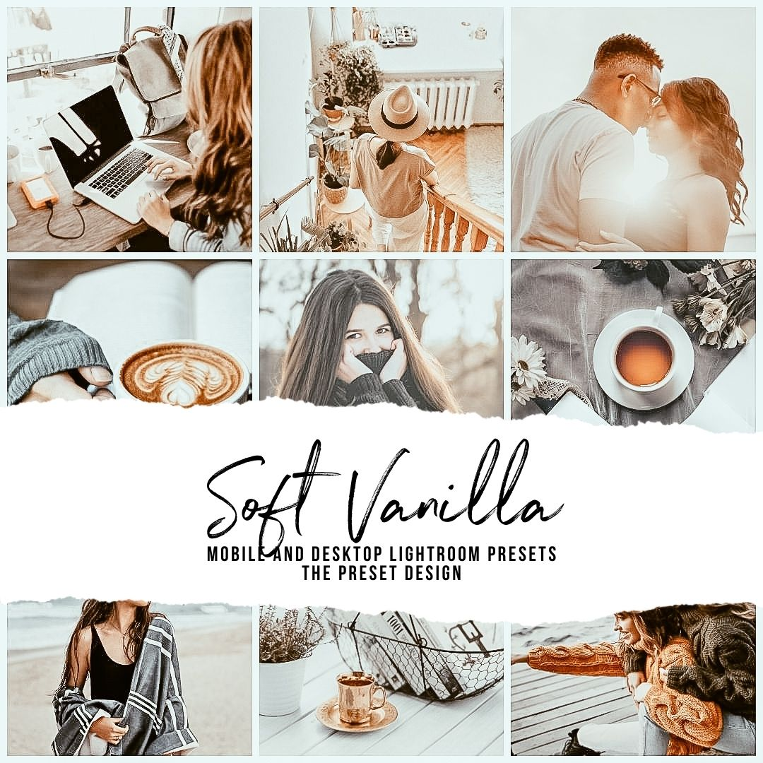 SOFT VANILLA - 5 Lightroom Presets