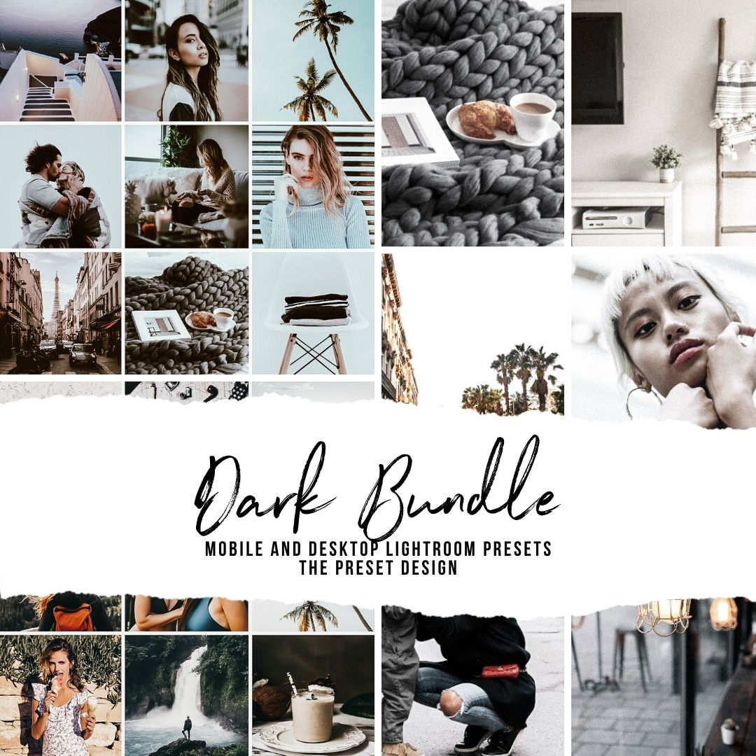 DARK BUNDLE - 15 Lightroom Presets