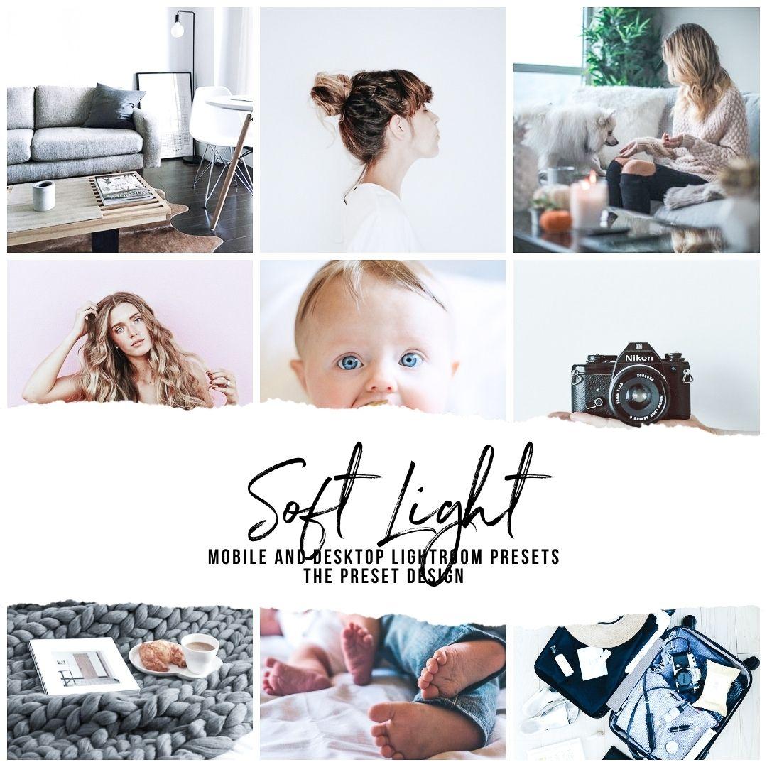 SOFT LIGHT - 5 Lightroom Presets