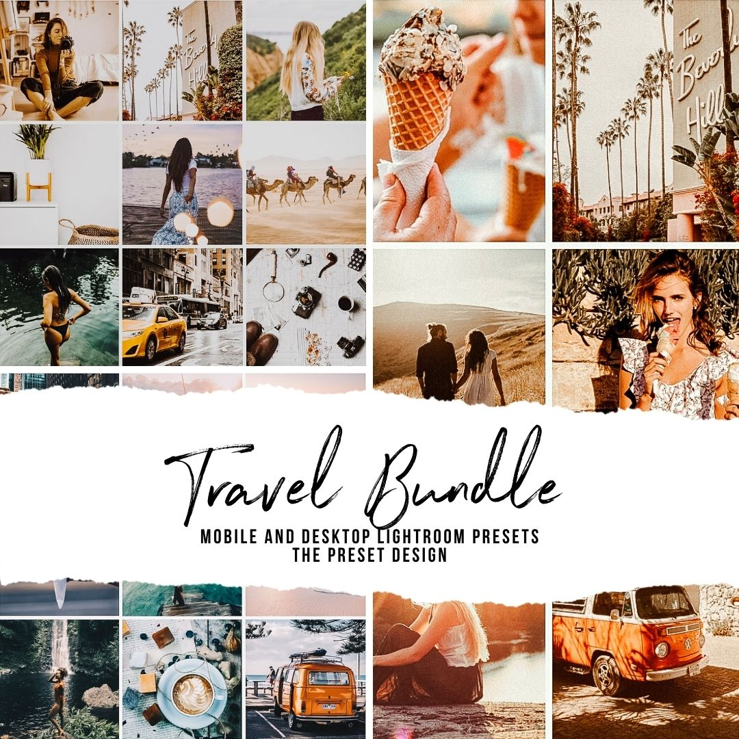 TRAVEL BUNDLE - 15 Lightroom Presets