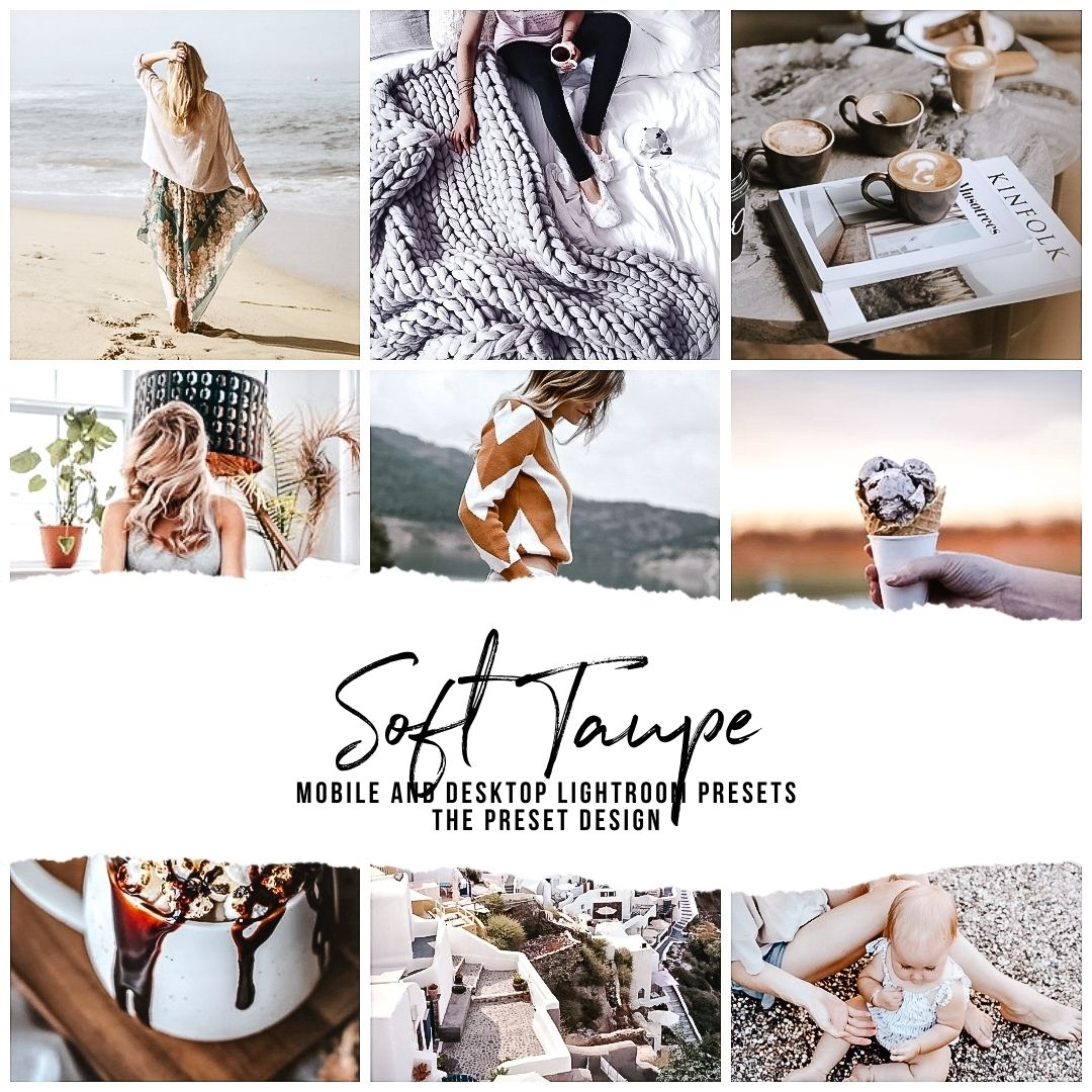 SOFT TAUPE - 5 Lightroom Presets