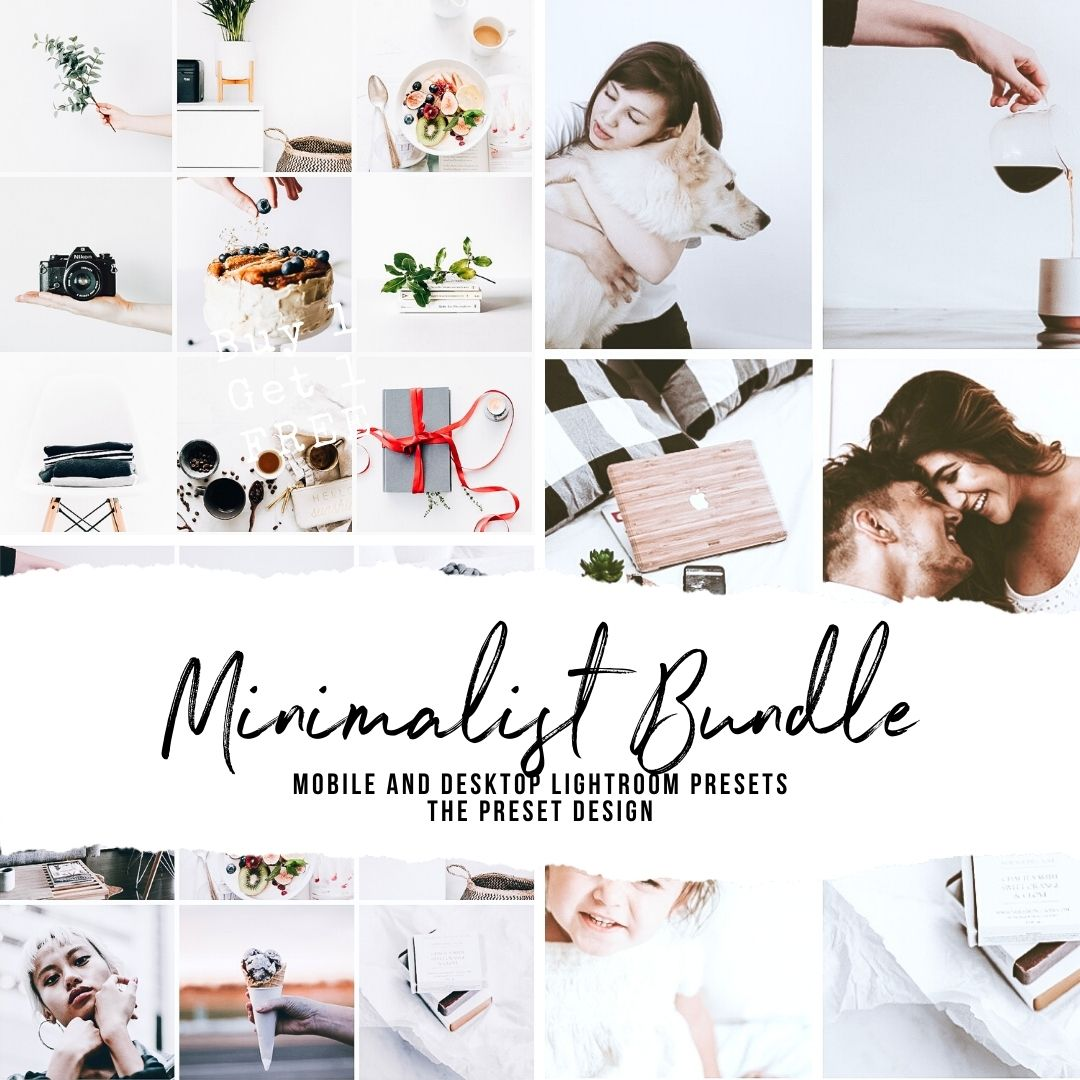 MINIMALIST BUNDLE - 15 Lightroom Presets