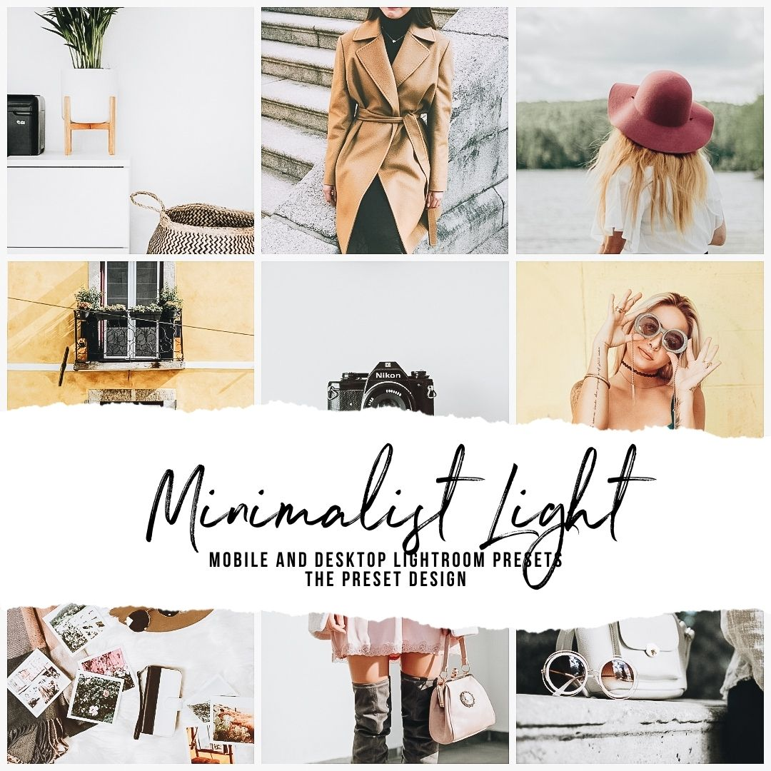 MINIMALIST LIGHT - 5 Lightroom Presets