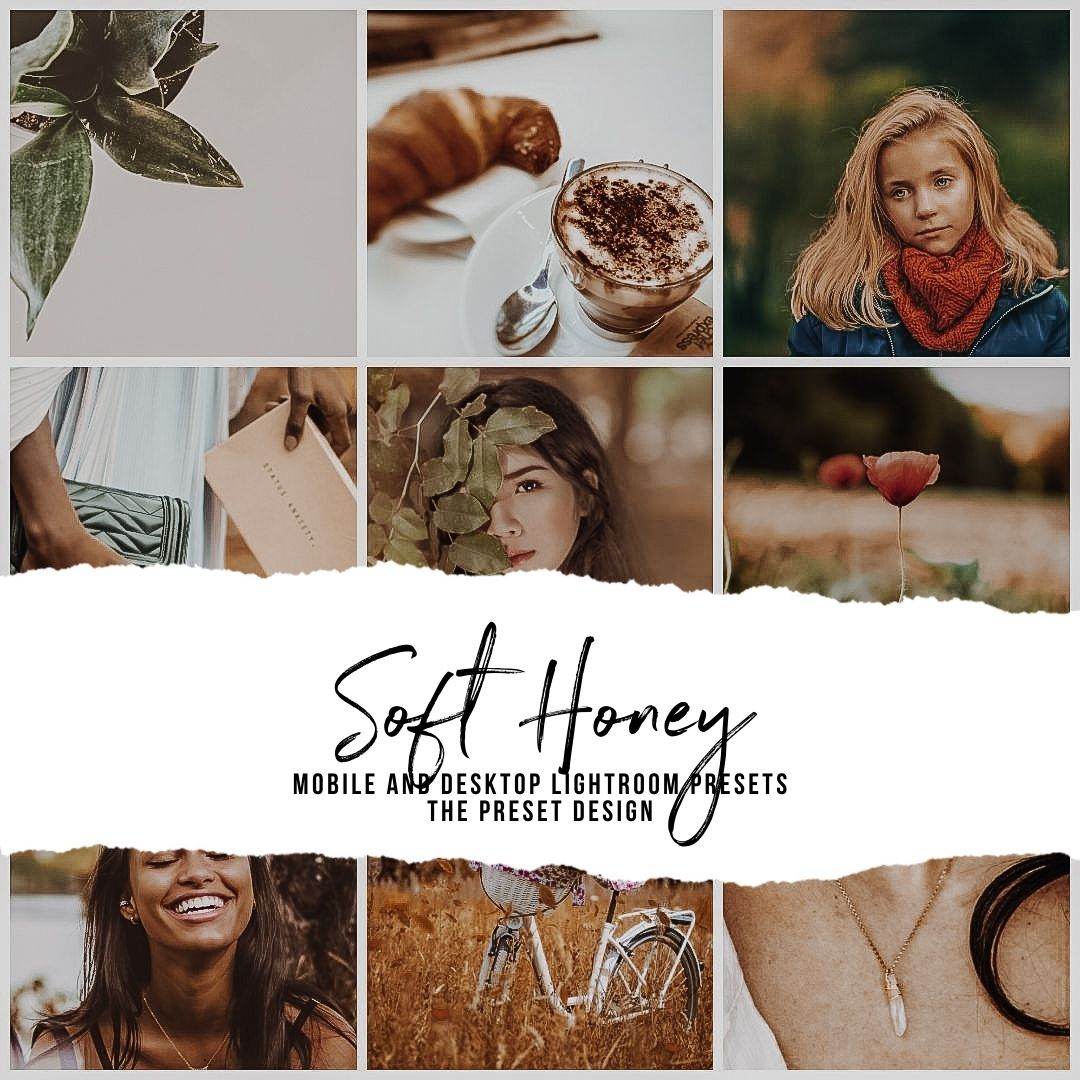 SOFT HONEY - 5 Lightroom Presets