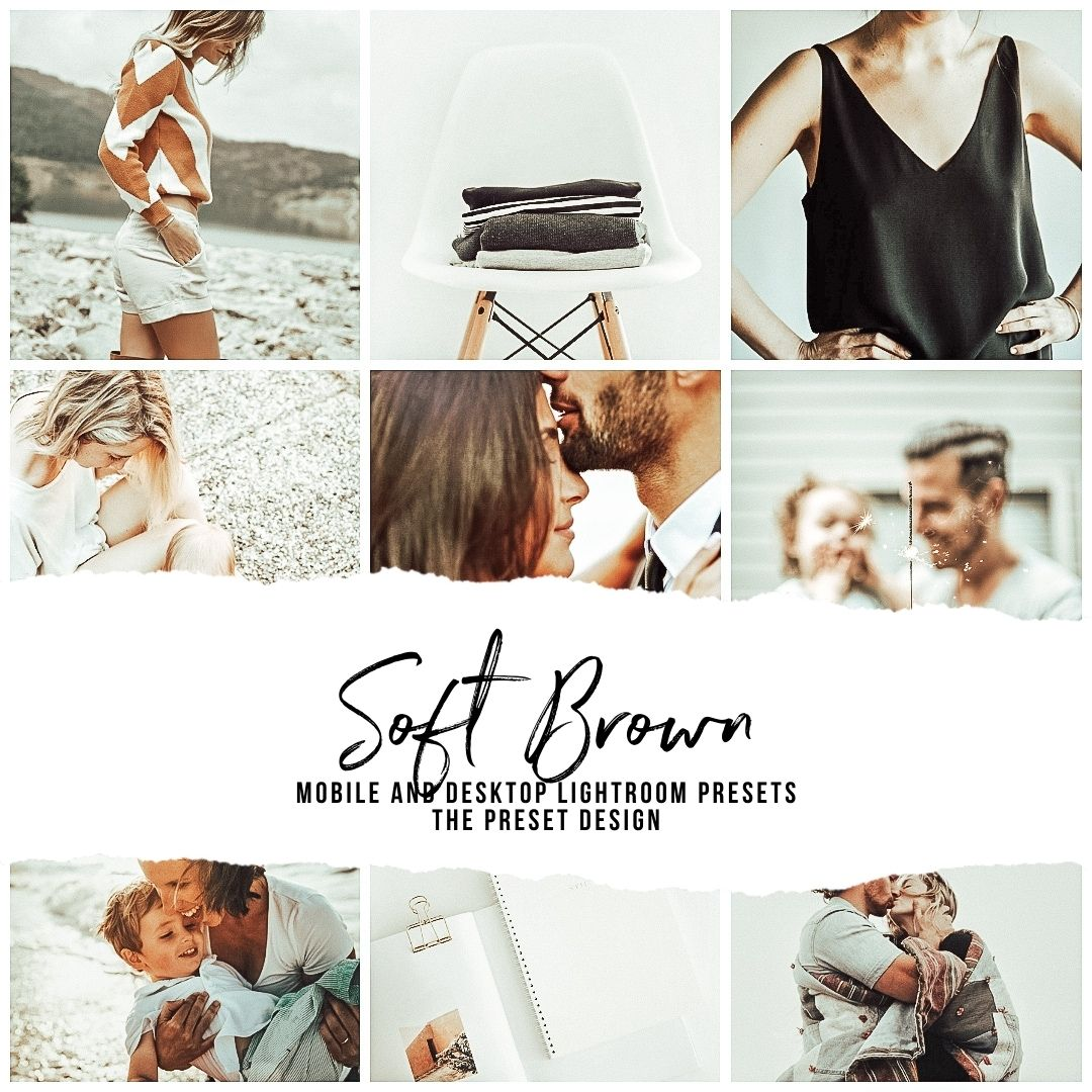 SOFT BROWN - 5 Lightroom Presets