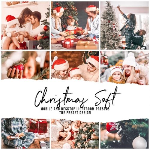 Christmas Presets, Lightroom Presets for Mobile and Desktop