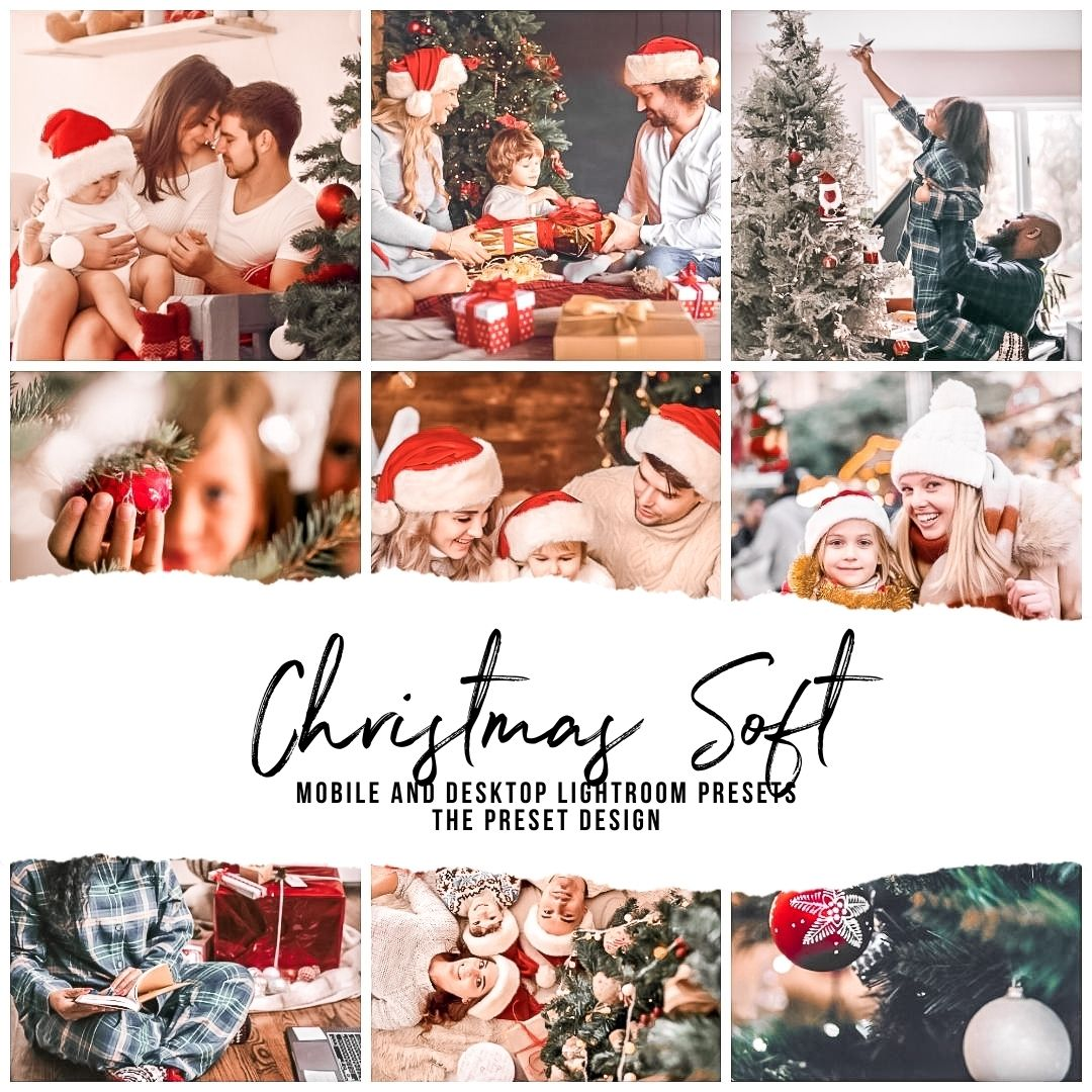 CHRISTMAS SOFT - 5 Lightroom Presets