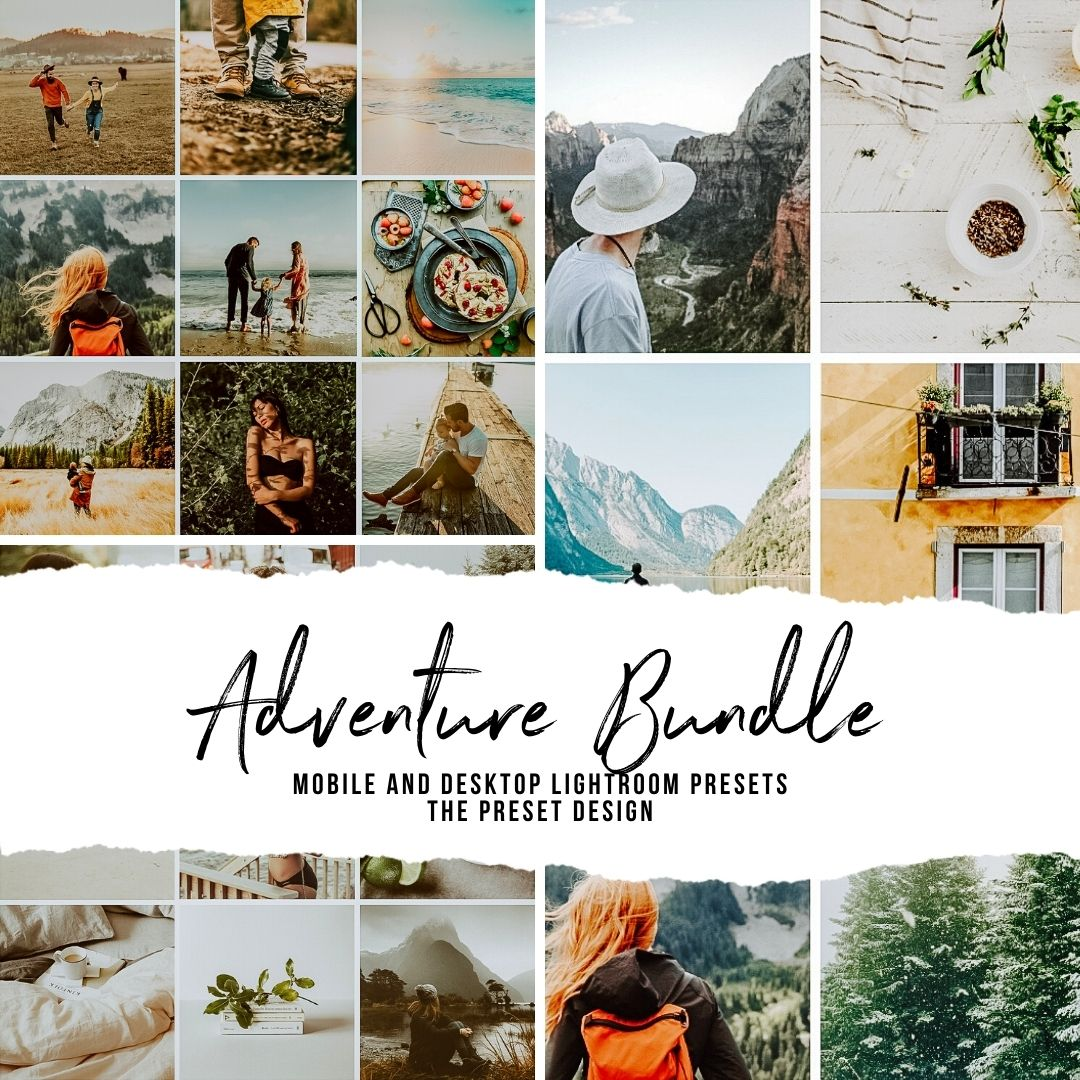ADVENTURE BUNDLE - 15 Lightroom Presets