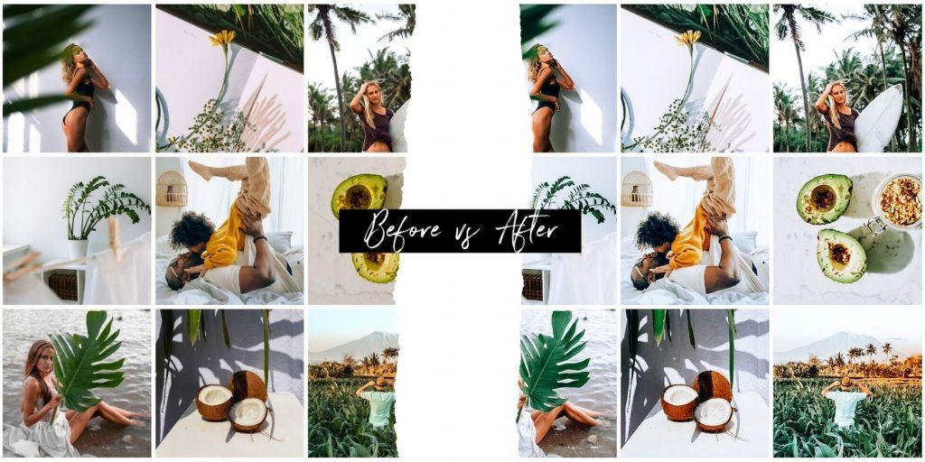 Instagram Presets, Best Lightroom Presets - Before and After